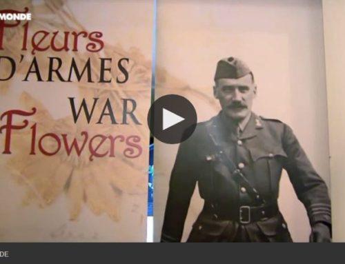 """Centenaire de 14-18 : """"Fleurs d'armes"""", une exposition émouvante pour commémorer la Grande Guerre (In French)"""